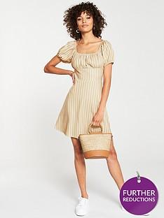 v-by-very-milk-maid-dress-stripe