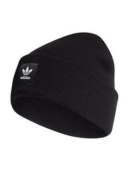 adidas-originals-cuff-knit-beanie-black