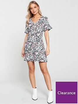 v-by-very-textured-printed-jersey-tea-dress-ditsy-print
