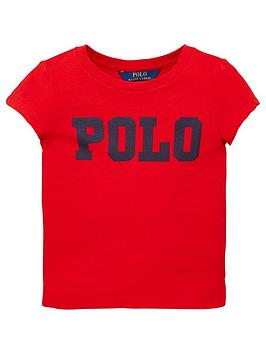 ralph-lauren-girls-short-sleeve-polo-t-shirt-red