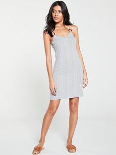 v-by-very-trim-slip-dress-grey