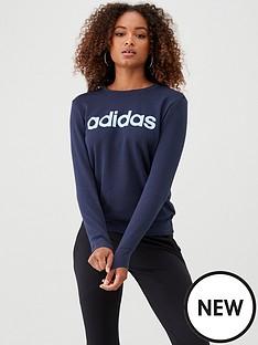 adidas-essentials-linear-sweat-navynbsp