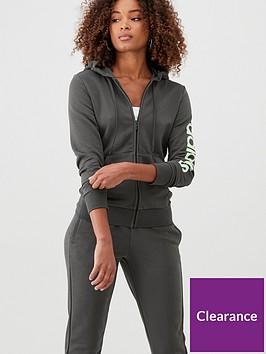 adidas-essentials-linear-full-zip-hoodie-khakinbsp
