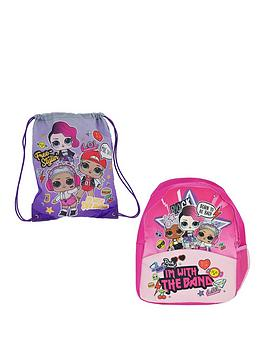 L.O.L Surprise! L.O.L Surprise! Backpack And Trainer Bag Picture