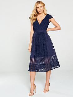 little-mistress-crochet-lace-midi-dress-navy
