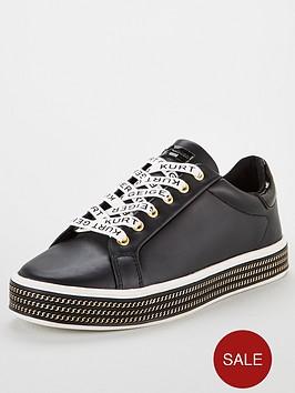 kurt-geiger-london-lambert-trainers-black