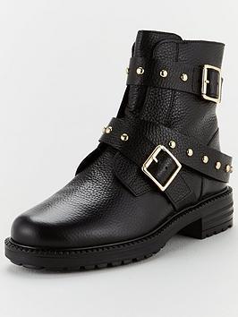 kurt-geiger-london-stinger-ankle-boots-black