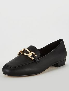 carvela-marble-chain-loafers-black