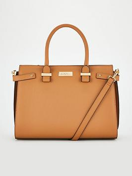 carvela-charlotte-structured-tote-tan