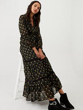 v-by-very-belted-lace-insert-maxi-dress-print