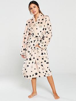 v-by-very-printed-star-supersoft-robe-nudeblack