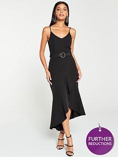 v-by-very-belted-scuba-midi-dress-black