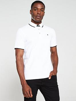 jack & jones Jack & Jones Paulos Polo Shirt - White Picture