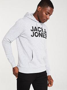 jack-jones-corp-logo-hoodie-grey-marl