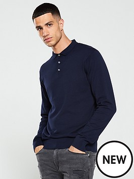 jack-jones-premium-edgar-knitted-polo-shirt-navy