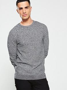 jack-jones-structured-knitted-jumper-grey
