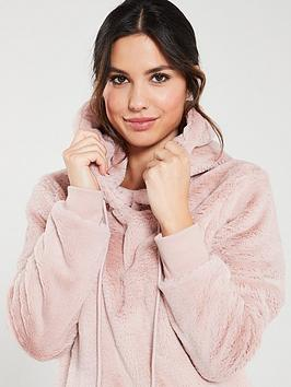v-by-very-shirred-faux-fur-snuggle-hoodienbsp--blush