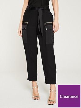 river-island-utility-trouser--black