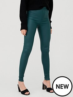 v-by-very-coated-jegging-dark-greennbsp