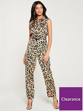 river-island-river-island-leopard-print-belted-jumpusit--brown