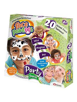 Very Face Paintoos Party Pack Picture