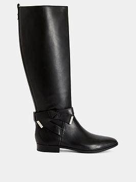 Ted Baker Ted Baker Sintial Knee High Boots - Black Picture