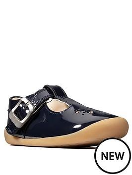 clarks-roamer-star-pre-walker-shoes-navy