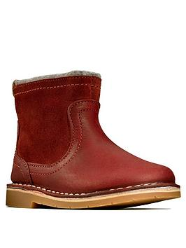 Clarks Clarks Toddler Girls Comet Frost Ankle Boot Picture