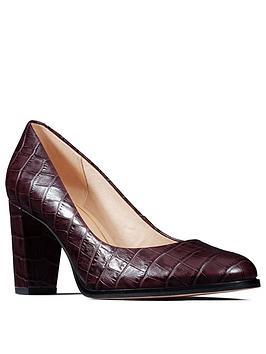 Clarks Clarks Kaylin Cara Heeled Shoe Picture
