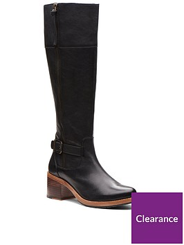 clarks-clarkdale-sona-knee-high-boot-black