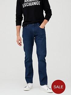 armani-exchange-j16-straight-fit-jeans-blue