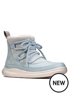 clarks-x-frozen-cloud-throne-boot-blue