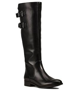 Clarks Clarks Netley Ride Knee High Boot - Black Picture