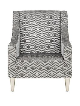 Laurence Llewelyn-Bowen Laurence Llewelyn-Bowen Apollo Fabric Accent Chair Picture