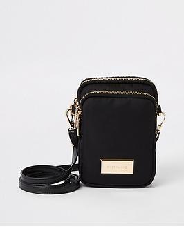 river-island-river-island-mini-nylon-cross-body-bag-black