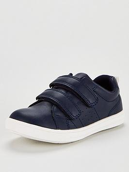 V by Very V By Very Touch Fastening Trainers - Navy Picture