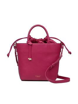 radley-knitters-close-small-drawstring-bucket-bag-raspberry