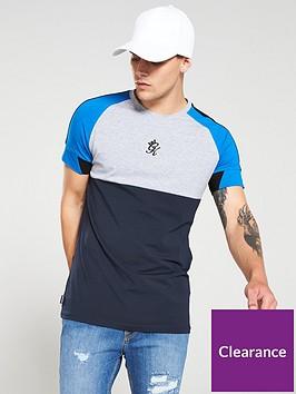 gym-king-lombardi-t-shirt-grey-marlnavy