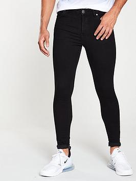 Gym King Gym King Plain Black Jeans - Black Picture