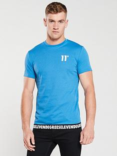 11-degrees-rogue-t-shirt-steel-blue