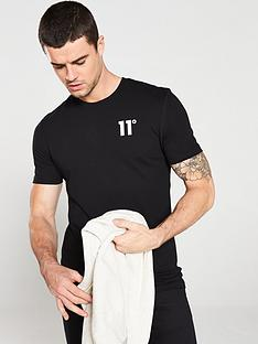 11-degrees-core-t-shirt-black