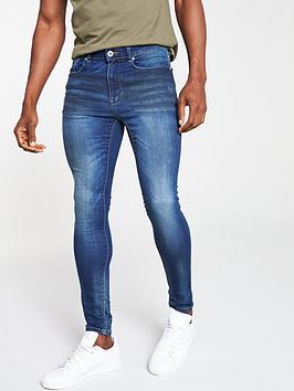 very-man-super-skinny-jeans-dark-vintage