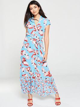 yas-vamilla-floralnbspmidaxi-dress-print
