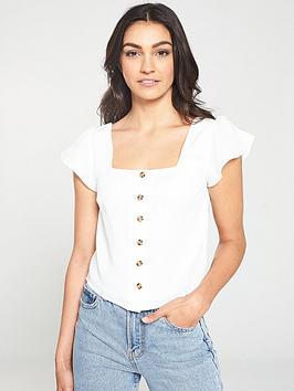 oasis-gypsy-button-through-top-off-white