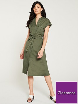 oasis-utility-linen-look-shirt-dress-khaki