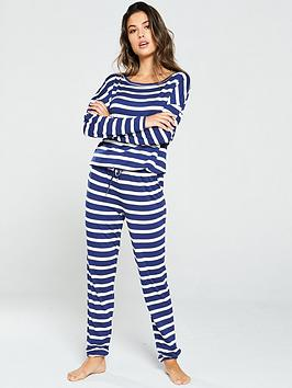 v-by-very-nautical-stripe-lounge-pj-set-navybr-br