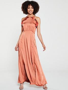 yas-nola-maxi-halter-dress-rust
