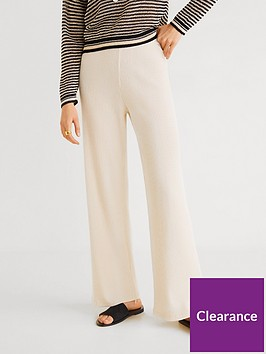 mango-knitted-wide-co-ord-leg-trousers-off-white