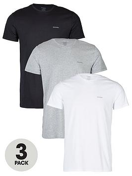 diesel-umtee-jakenbspthree-pack-t-shirt-multi-coloured