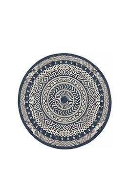 Very County Circles Indoor/Outdoor Rug Picture